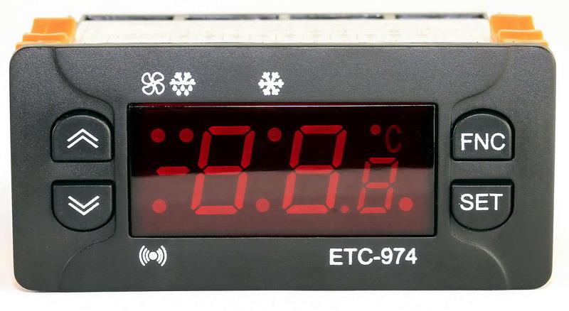 [ATI]ATI ETC 974-230VAC/NTC 전자식 냉동기 제어기
