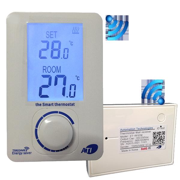 [ATI]TSR02HVR-ET100 무선 디지털 난방온도조절기 방1개용