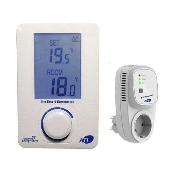 [ATI]TSR02HVR-SR01A 무선 디지털난방온도조절기 1채널